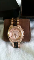 MICHAEL KORS ROSE GOLD WATCH ****$250 OBO***