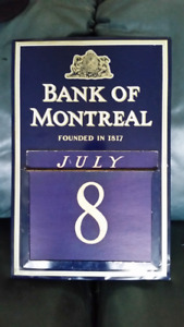 Bank of Montreal Perpetual Wall Calendar All Cards