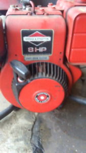 Generator,Briggs and Stratton 8 HP motor