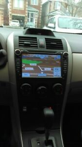 OEM TOYOTA COROLLA DVD GPS BLUETOOTH INCLUDING INSTALL$499
