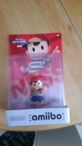 Nintendo Amiibo factory sealed Ness from Earthbound