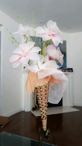 Decorative Flowers with stand