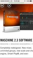 Maschine 2 software with 3 expansions