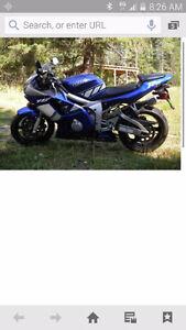 2001 Yamaha R6 trade for Quad