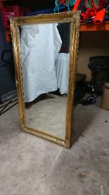 """Quality Framed Mirror 24"""" x 48"""""""