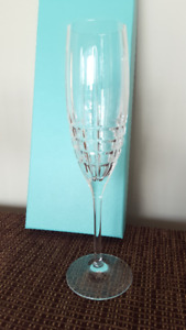 Tiffany's Champagne Flutes (pair)