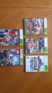 Collection of xbox and Xbox 360 games