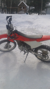 2006 crf230f with low hrs trade for honda 4x4 atv! !