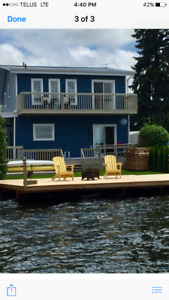 Gorgeous 3 Bedroom Furnished Waterfront Home For Rent