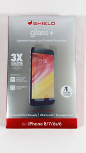 ZAGG InvisibleShield Glass+ Screen Protector Apple Iphone 6-8