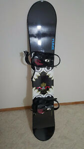 FIREFLY SNOWBOARD AND 5150 BINDINGS