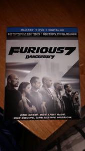 Furious 7 Blu Ray