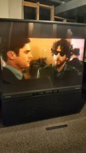 60 Inch Toshiba Television (Rear Projection)