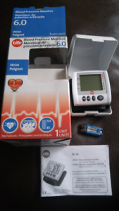 Blood pressure monitor 6.0 for wrist