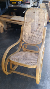 Wood Rocking Chair -$40