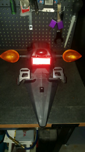 2015 Yamaha R3 rear fender + turn signals
