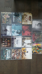 Lot de cds de tout genre