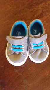 Size 2-3 baby shoes and boots