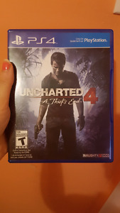 Uncharted 4 a thiefs end ps4 video game