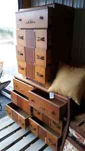 Matching Solid Wood Dresser and bureau for sale