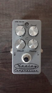 KEELEY COMPRESSOR 4 KNOB SILVER VERSION 170$