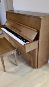 Yamaha Upright Piano + Mover