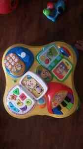 Fisher Price play table/board Cambridge Kitchener Area image 1