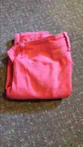 Size 3 pink jeans