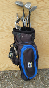 """MIRAGE"" GOLF CLUBS FOR SALE WITH ""OZZI"" BAG."