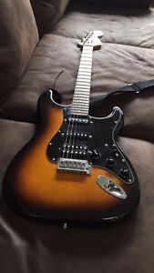 lightly used Fender Stratocaster Affinity series electric guitar