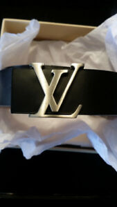 "AUTHENTIC LV Belt + Box. 32"" Waist. 9.5/10 Condition. $375 OBO."