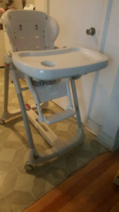 Baby high chair made in italy