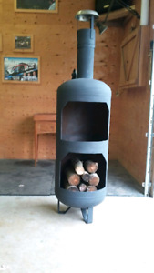 Chimnea style fire pit