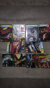 Great deal!! 10 xbox 360 games for 50$