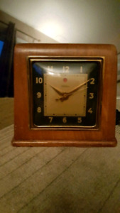 Vintage and rare 1930's TELECHRON electric clock