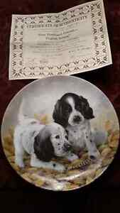 KNOWLES COLLECTABLE  DOG PLATES $8 EACH London Ontario image 6