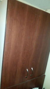 ► Two Used upper Kitchen cabinets 3ft tall, 29 1/4 wide x 12 3/4