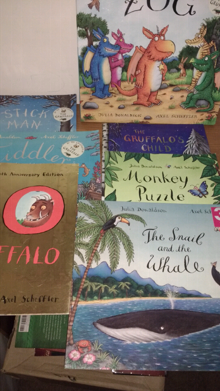 b4119e8b0313 Julia Donaldson   Axel Scheffler 7 book bundle
