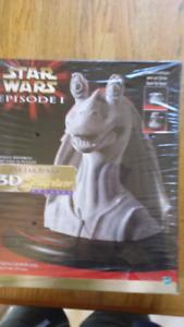 Star wars Jar jar binks 3d puzzle sculpture bust
