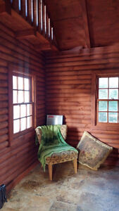 Charming Off Grid Log Cabin Sarnia Sarnia Area image 2