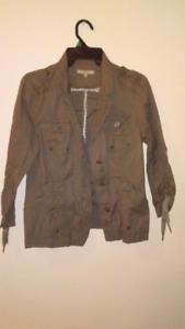 Army green jacket -