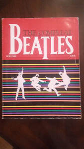 Beatles Songs and guitar tablature. From 1962-1970