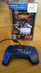 PS4 / PS3 Fightpad Pro Controller With Street Fighter artwork