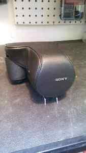 Excellent condition sony camera case with strap