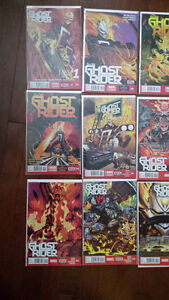 All New Ghost Rider 1 -12 set Marvel Comics
