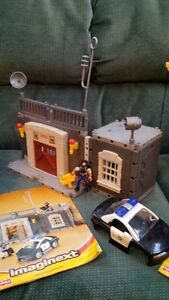 Imaginext Police Station  Fisher Price