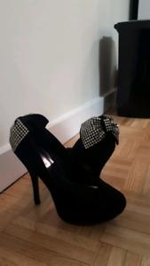 High heels hardly worn