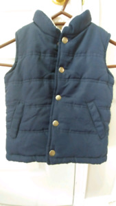 Toddler winter vest size 4