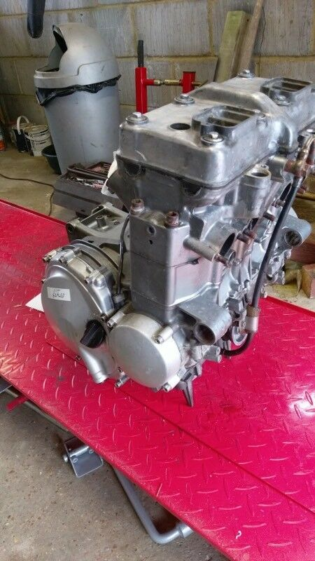 Kawasaki ZZR600 Engine