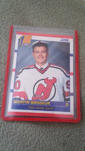 Martin brodeur rookie card